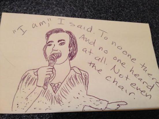 Neil Diamond, the post-it note.