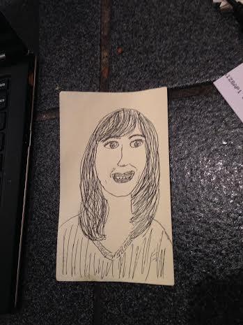 Sheri Reda, fabulous post-it note.