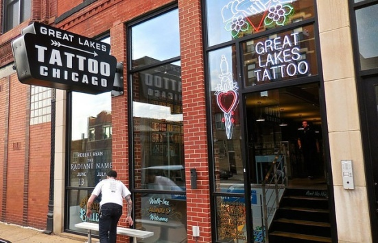 Great Lakes Tattoo, exterior