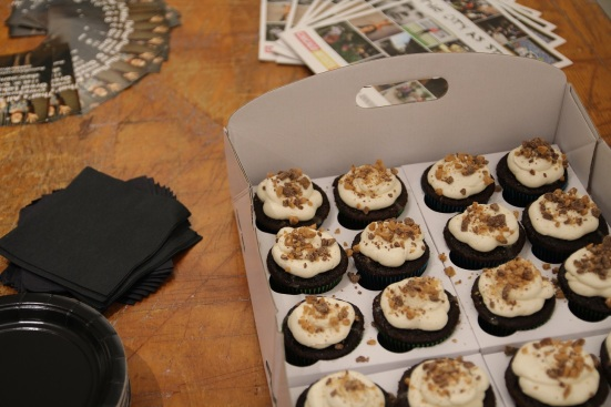 Cupcakes by the amazing and talented Jessica Colella
